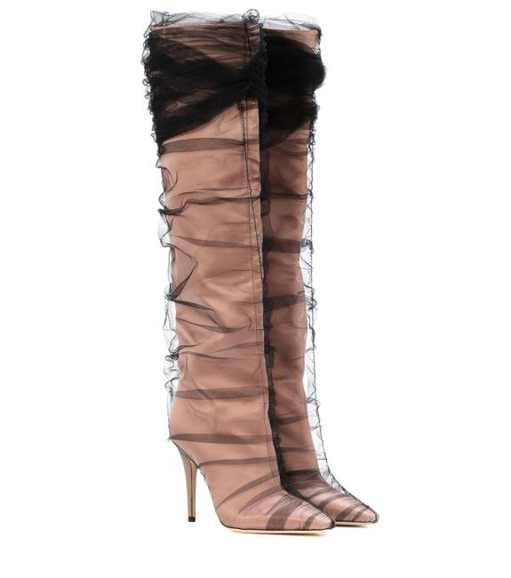 JIMMY CHOO C/O OFF WHITE ELISABETH BOOT - LuxurySnob
