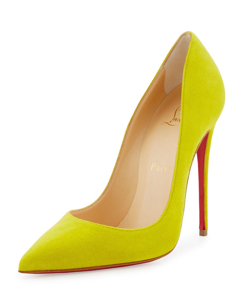 CHRISTIAN LOUBOUTIN SO KATE 120mm SIZE 38.5 PUMPS | LuxurySnob authentic Louboutin shoes second hand, second hand Christian Louboutin, pre owned red bottom shoes