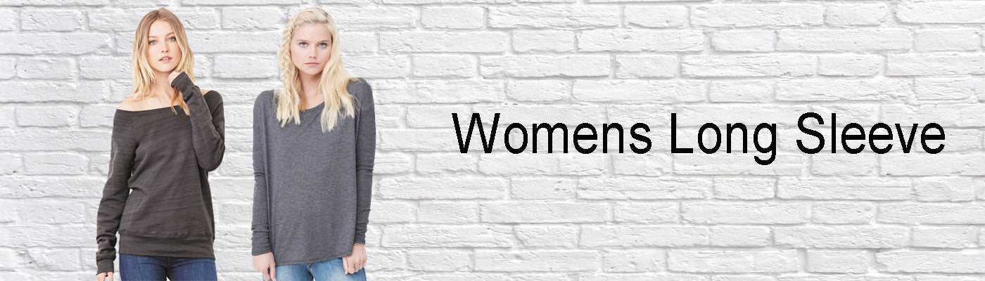 Womens Long Sleeve Shirts