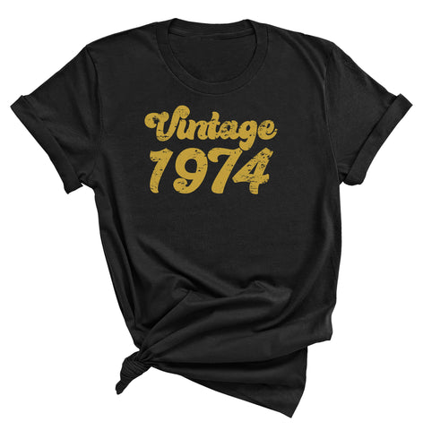 47th Birthday Shirt, Vintage 1974 T-Shirt