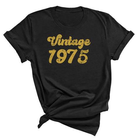 46th Birthday Shirt, Vintage 1975 T-Shirt