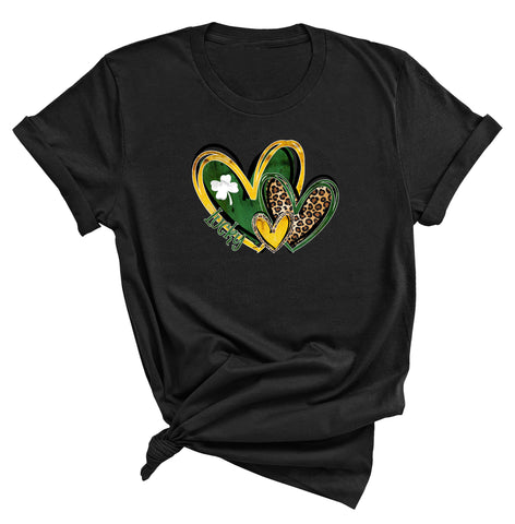Lucky Hearts St. Patrick's Day T-Shirt