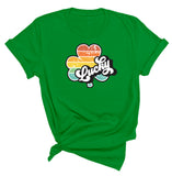 Retro Clover Lucky St. Patrick's Day T-Shirt