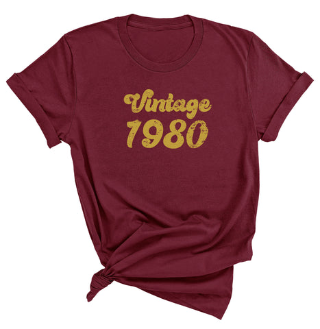 41st Birthday Shirt, Vintage 1980 T-Shirt