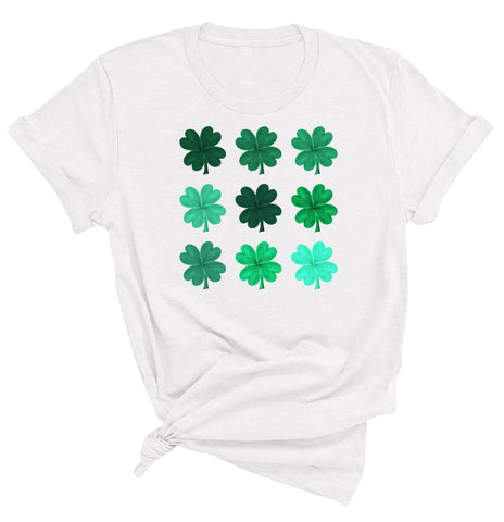 4 Leaf Clovers St. Patrick's Day T-Shirt