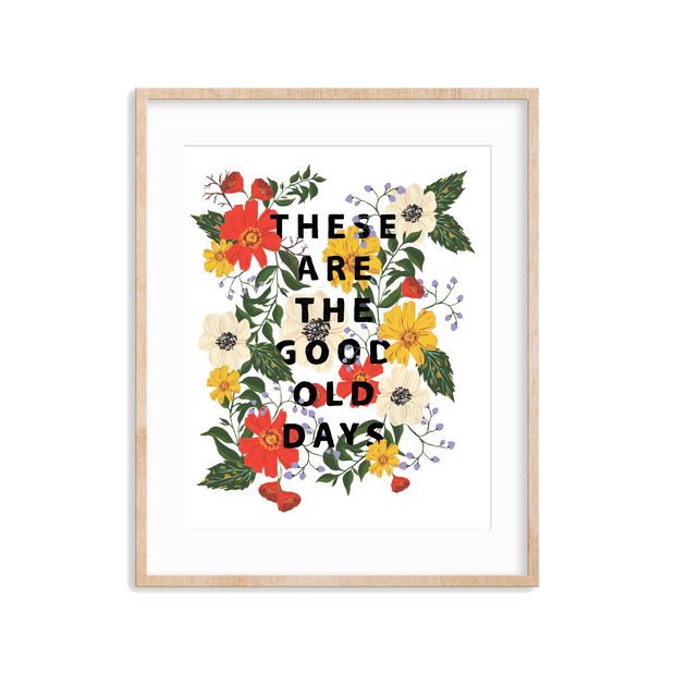 Good Old Days Art Print