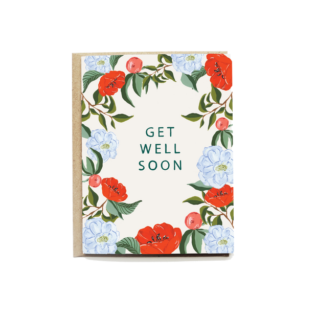 Peach Patch Get Well Card