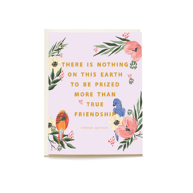 Birds of a Feather Friendship Card
