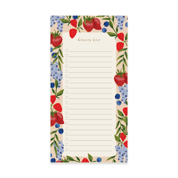 Berry Grocery Pad