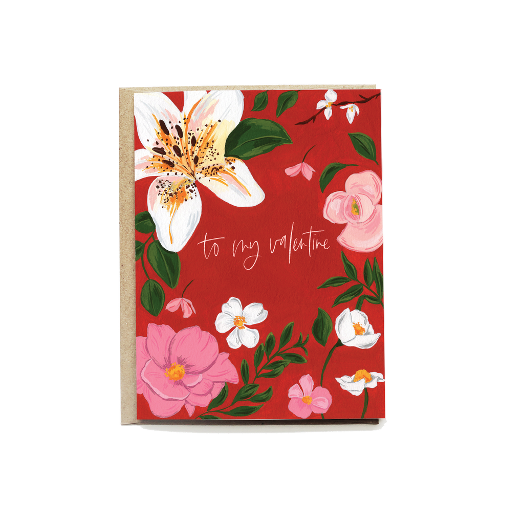 Floral Love You Card