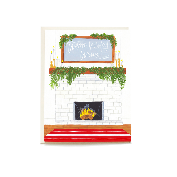 Cozy Home Holiday Card