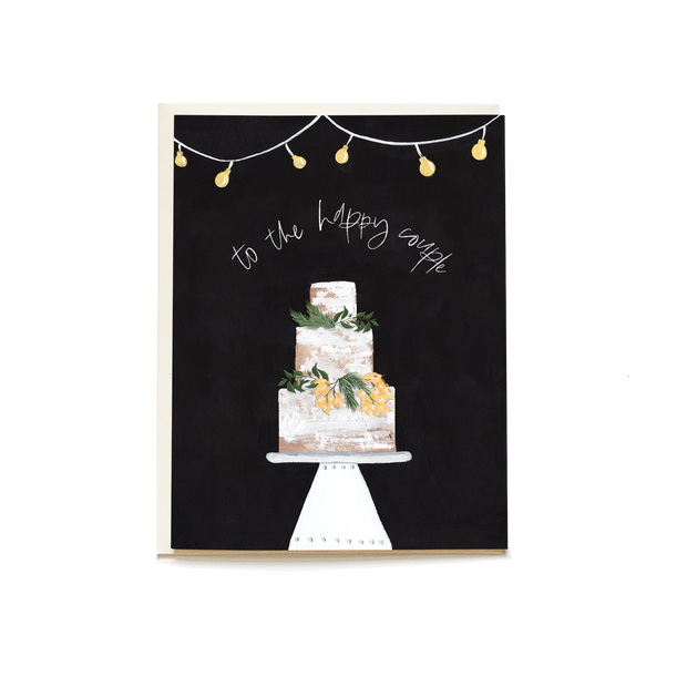 Decorative Cake Wedding Card