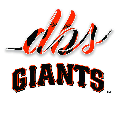 MLB Laces: Giants - The Big Apple