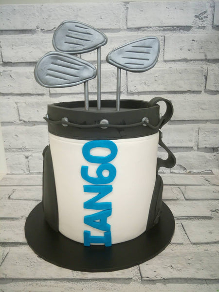 Adult Birthday - 3D Golf Birthday Cake