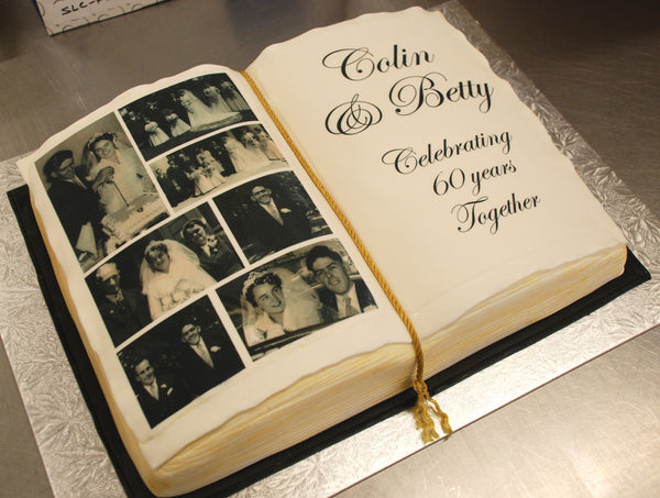 SPECIALTY: Photo Book Cake