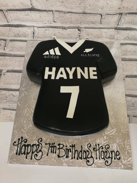Childrens Birthday: All Blacks Rugby Shirt