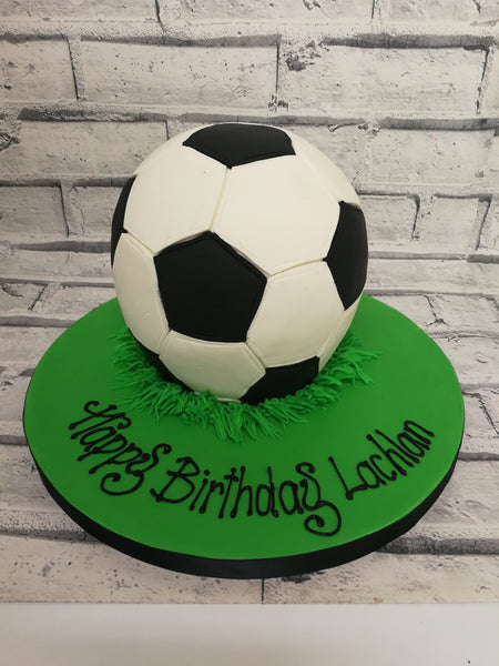 Childrens Birthday - 3D Soccer