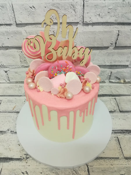 Baby Shower - Baby Dribble Cake
