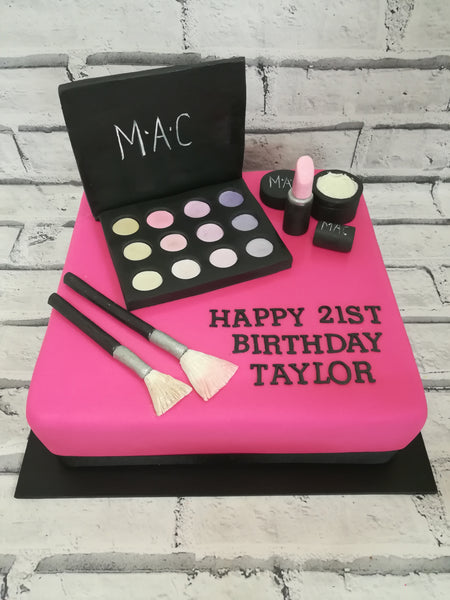 Adults Birthday - Make Up Cake