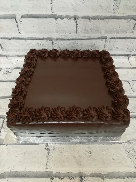 Square Chocolate Cake