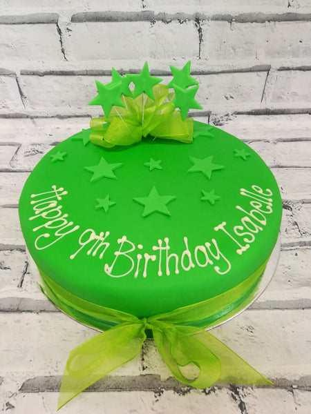 Fondant Birthday Surprise