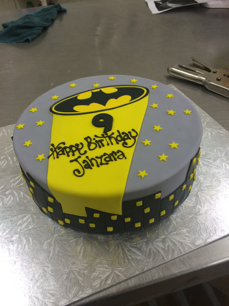 Childrens Birthday - Batman Cake