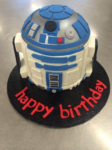 R2D2 - Star Wars Birthday Cake