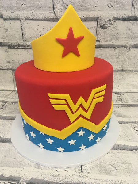 Birthday Cake - Wonder Woman Cake