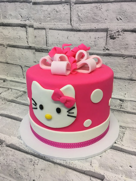 Childrens Birthday - Kitty Cake