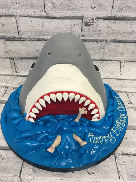 Childrens Birthday - Shark Cake