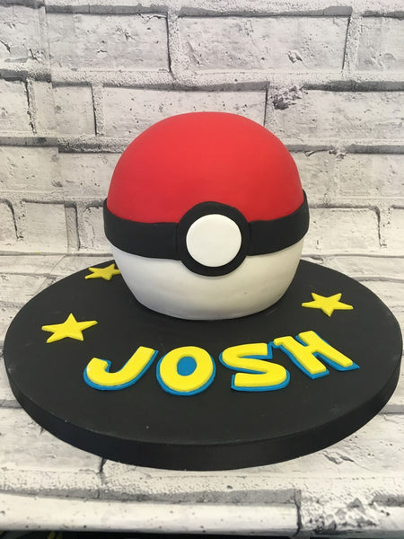 Teen Birthday Cake - Pokemon Cake