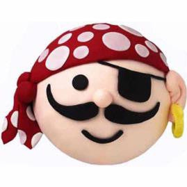 NOVELTY: Pirate Face