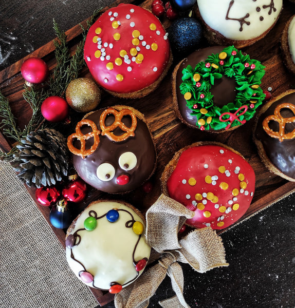 Divine Christmas Donuts