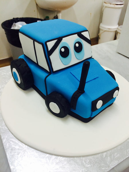 Childrens Birthday - Cars Birthday Cake