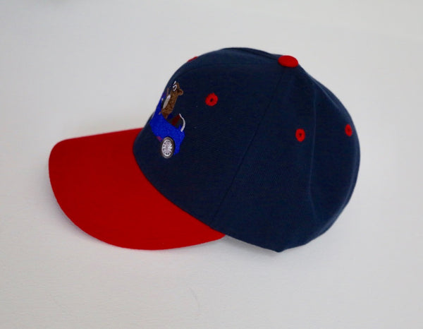 Red n Blue Ridin Dirty Cotton Cap