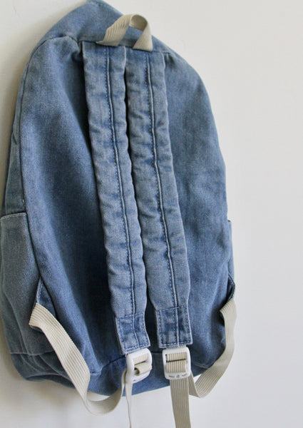 PRE ORDER CLUB PAM, DENIM BACKPACK