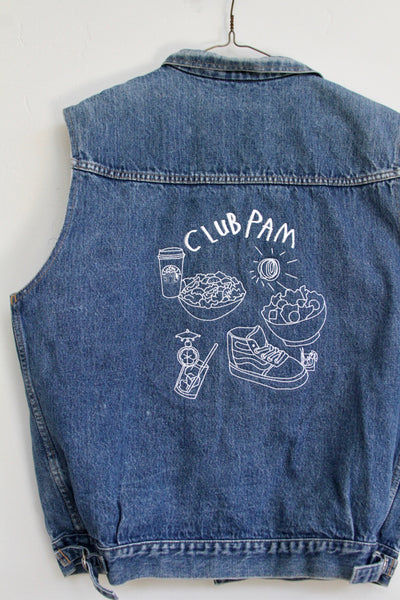 CLUB PAM, DENIM VEST