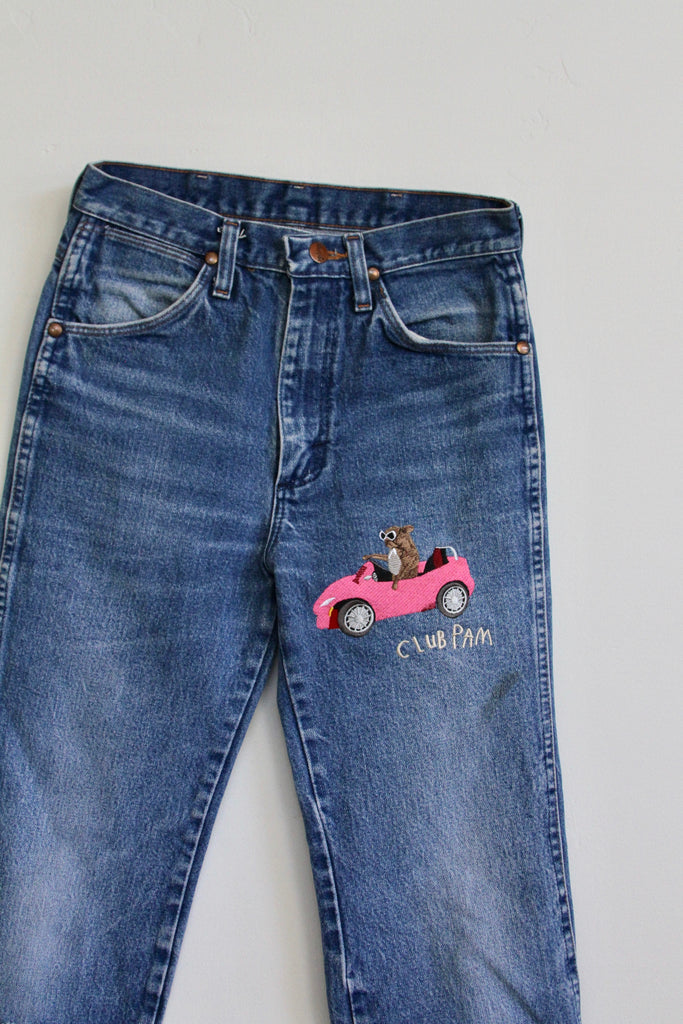 EMBROIDERED TEEN JEANS