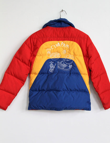 CLUB PAM, RAINBOW SNOW JACKET