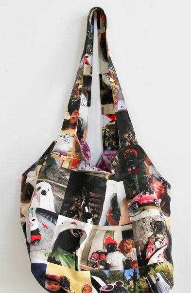 INSTAGRAM PAM REVERSIBLE LARGE TOTE