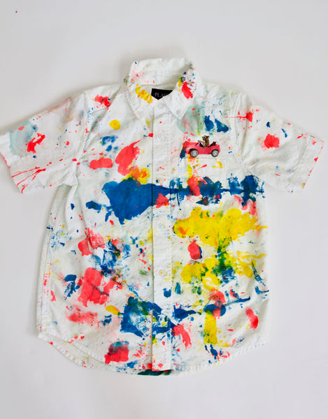 Casino Button Down, Kids 7/8