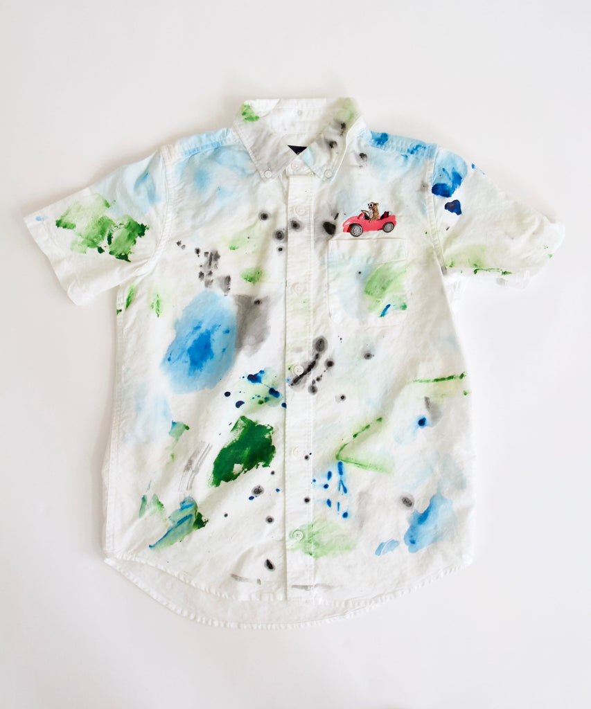Casino Button Down, Kids 10/12