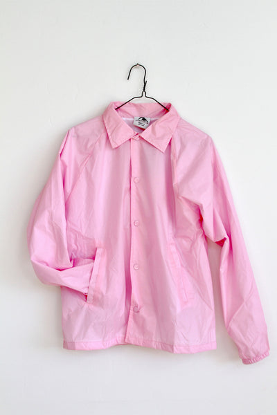 PAM CRUISE Club, Embroidered pink Windbreaker
