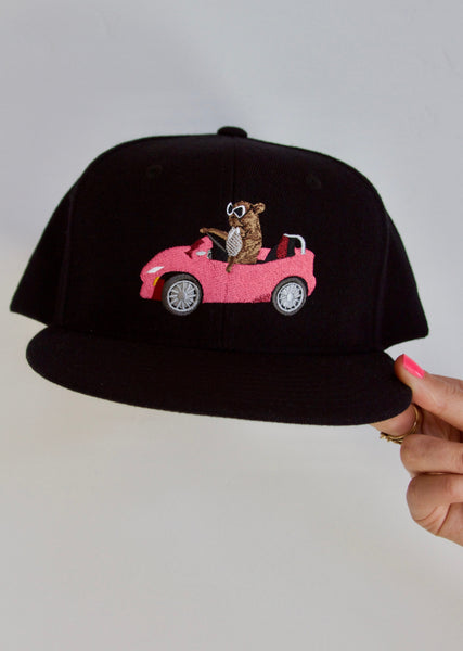 Flat Billed Cruise, Embroidered PAM hat