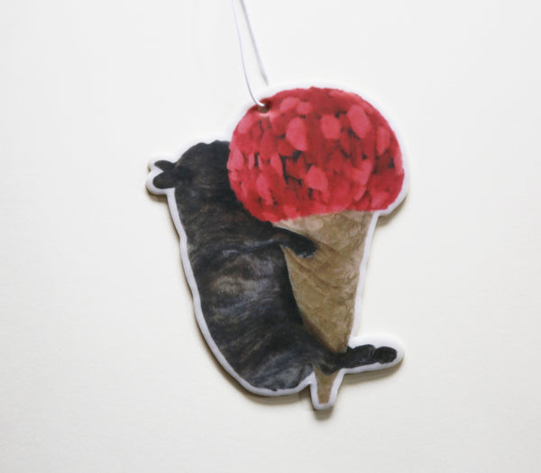 Ice Cream Cone Hug Air Freshener