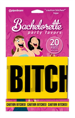 Bachelorette Party Favors Caution Bitches Tape PD6013-11
