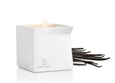 Afterglow Dark Vanilla Massage Oil Candle - 4.5 Oz. JJ-11735