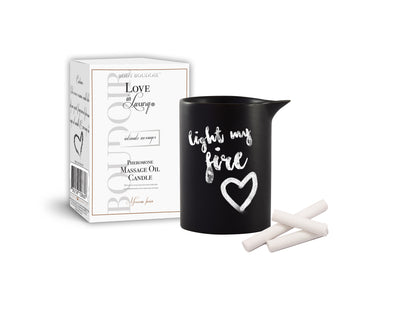 Body Boudoir Love in Luxury Pheromone Massage Oil Candle - Moroccan Fusion - 5.2 Oz. CE1087-09