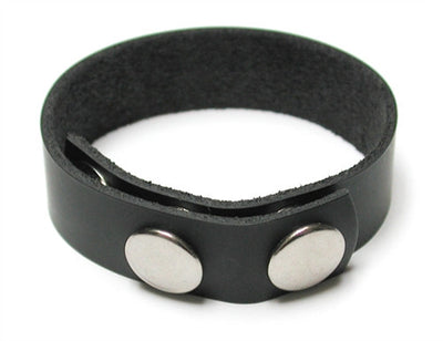 3 Snap Cock Ring Leather KL-642