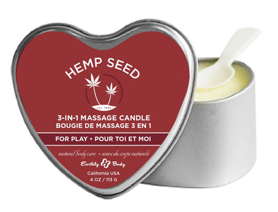 3-in-1 for Play Suntouched Candle With Hemp EB-HSCV061